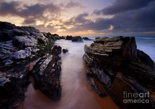 Jagged Photograph - Stone Channel by Mike  Dawson