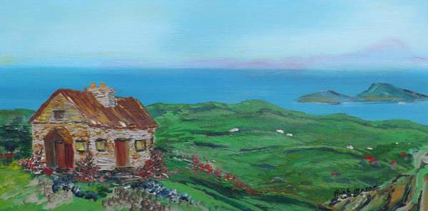 Wall Art - Painting - Stone Cottage by Rich Mason
