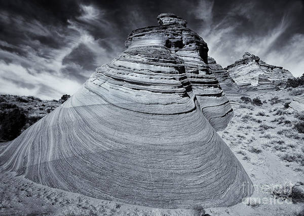 Coyote Photograph - Stone Curves by Mike  Dawson
