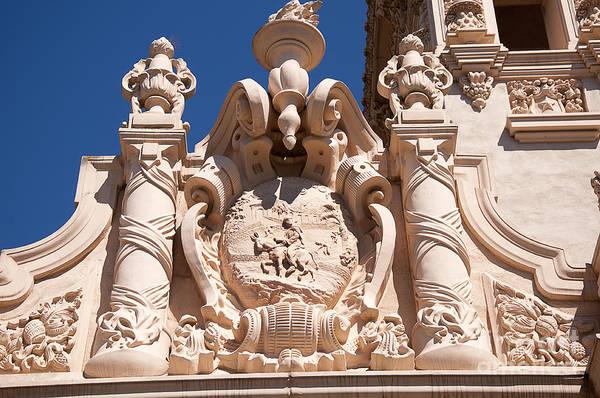 Photograph - Stone Detail In Balboa Park by Brenda Kean