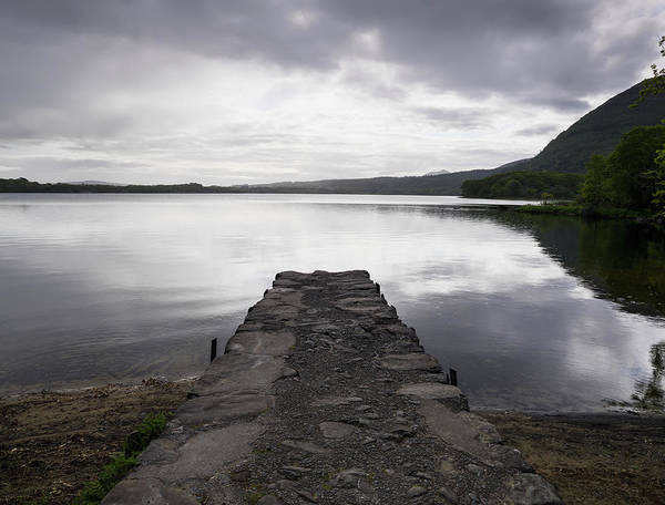 Killarney Photograph - Stone Dock At Muckross Lake Killarney by Richard Desmarais / Design Pics