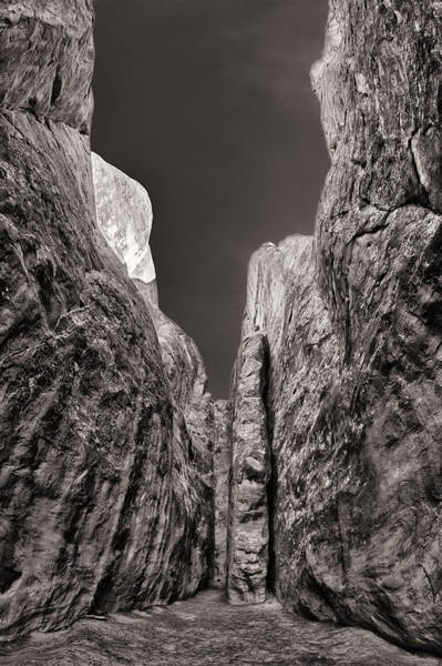 Wall Art - Photograph - Stone Fins In Black And White by Juan Carlos Diaz Parra
