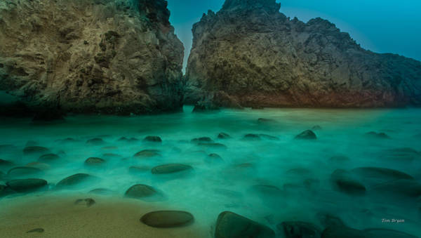 Photograph - Stone Glow-  Big Sur by Tim Bryan