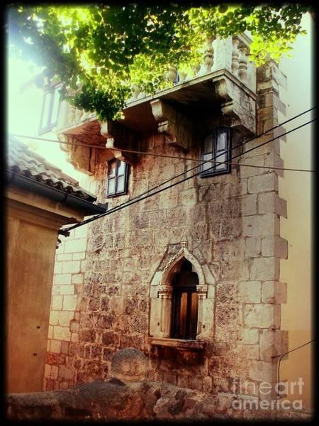 Lean-tos Photograph - Stone House by Nina Ficur Feenan