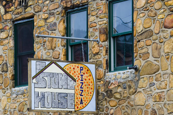 Photograph - Stone House Pizza by Carolyn Marshall