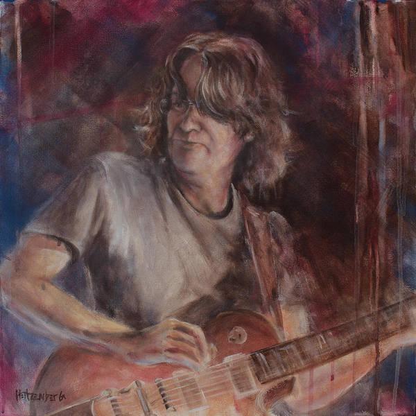 Pearl Jam Painting - Stone by Josh Hertzenberg