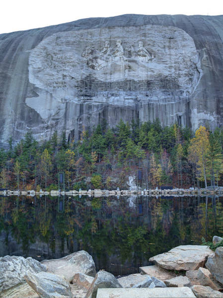 Photograph - Stone Mountain - 2 by Charles Hite