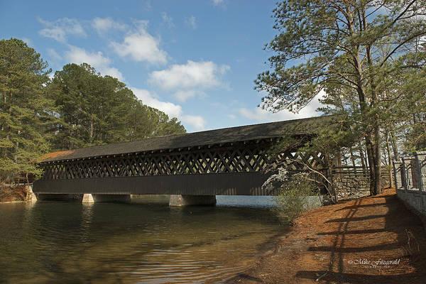 Photograph - Stone Mountain Bridge - Effies Bridge by Mike Fitzgerald
