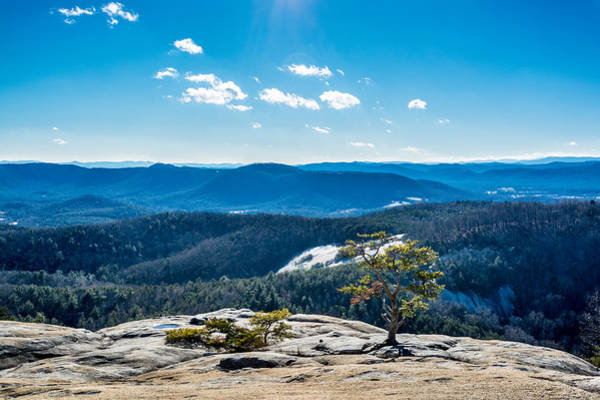 Photograph - Stone Mountain Summit View by Randy Scherkenbach