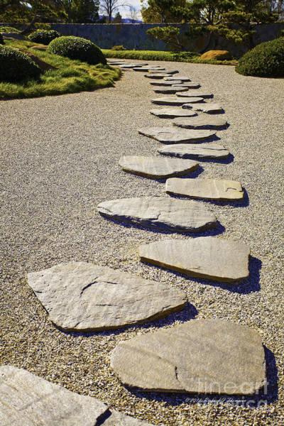 Photograph - Stone Path by Richard J Thompson