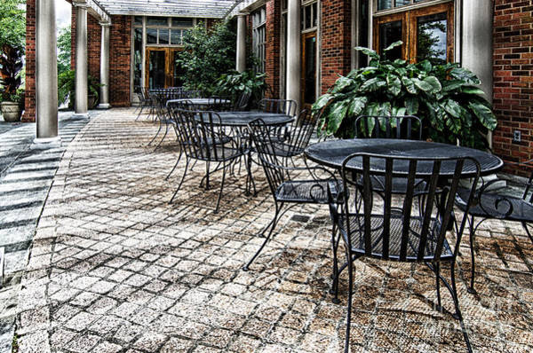 Photograph - Stone Patio by Danny Hooks