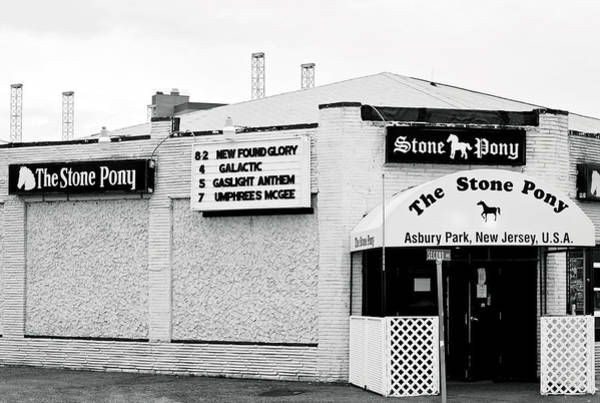 Photograph - Stone Pony Asbury Park Nj by Terry DeLuco
