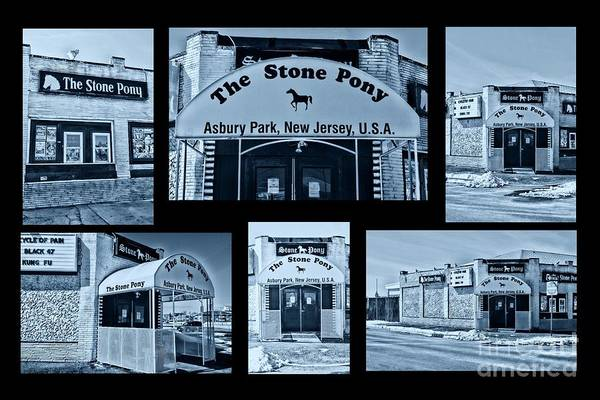 Wall Art - Photograph - Stone Pony Tribute Cool by Paul Ward