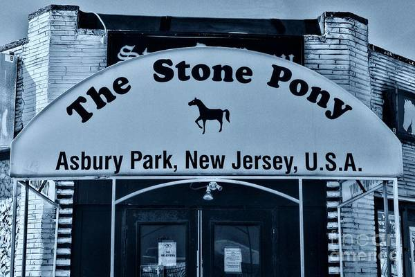 Wall Art - Photograph - Stone Pony Very Cool by Paul Ward