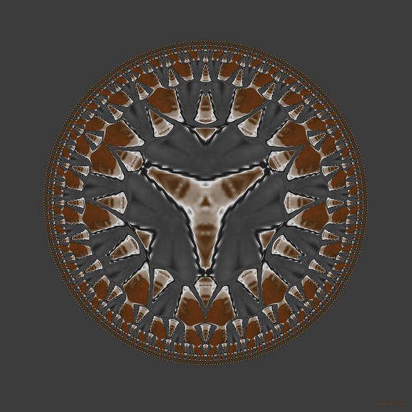 Digital Art - Stone Ridge Mandala by Judi Suni Hall