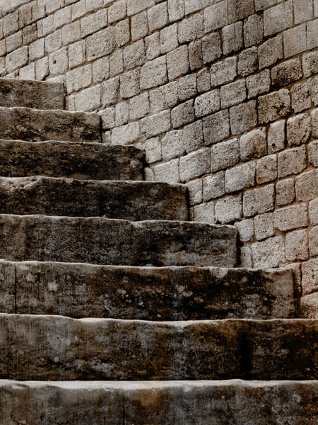 Photograph - Stone Stairs Arles France by Bob Coates