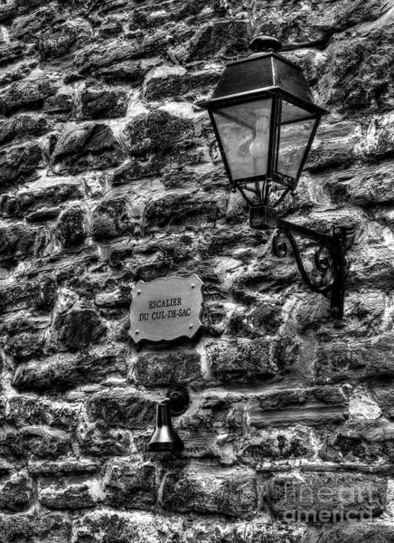 Photograph - Stone Walls Of Old Quebec by Mel Steinhauer