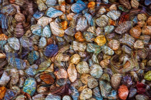 Painting - Stoned Stones by Omaste Witkowski