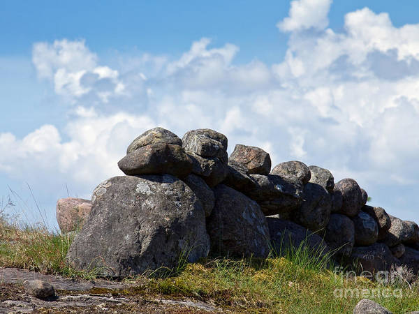 Photograph - Stonefences by Lutz Baar