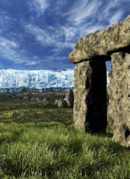 Wall Art - Photograph - Stonehenge Glacier Theory by Nicolle R. Fuller