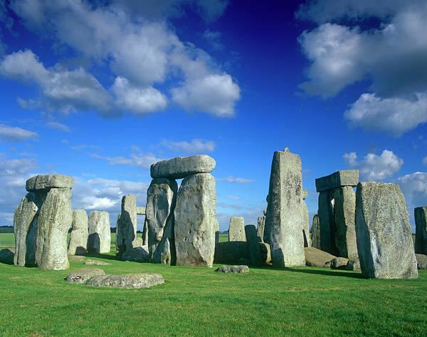 Prehistoric Era Wall Art - Photograph - Stonehenge by Kathy Collins