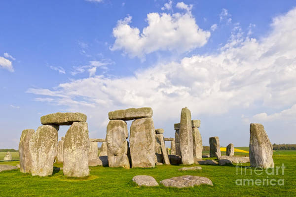 World Heritage Site Photograph - Stonehenge Stone Circle Wiltshire England by Colin and Linda McKie