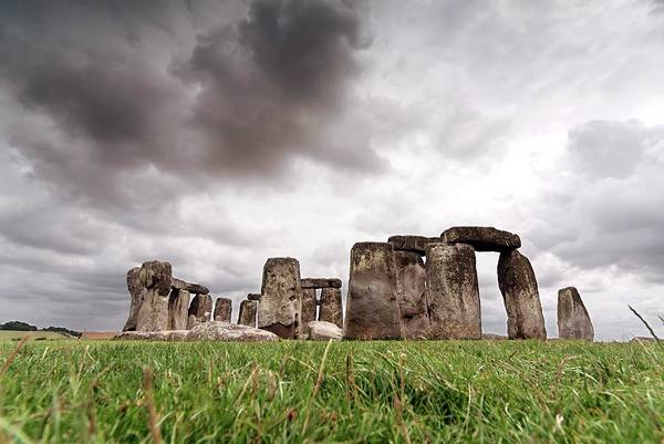 Wall Art - Photograph - Stonehenge Under A Stormy Sky by Daniel Sambraus/science Photo Library