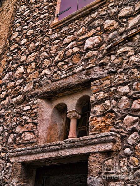 Photograph - Sunlight On Castle Walls by Brenda Kean