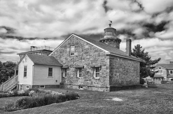 Photograph - Stonington Lighthouse 15328 by Guy Whiteley