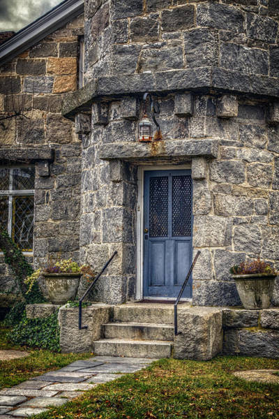 Conn Wall Art - Photograph - Stonington Lighthouse Door by Joan Carroll