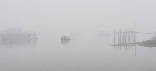 Wall Art - Photograph - Stonington Maine Morning Fog by Marty Saccone