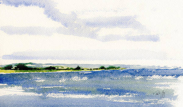 Stonington Point East Art Print
