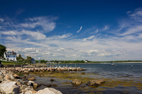 Photograph - Stonington Point Seascape by Kirkodd Photography Of New England