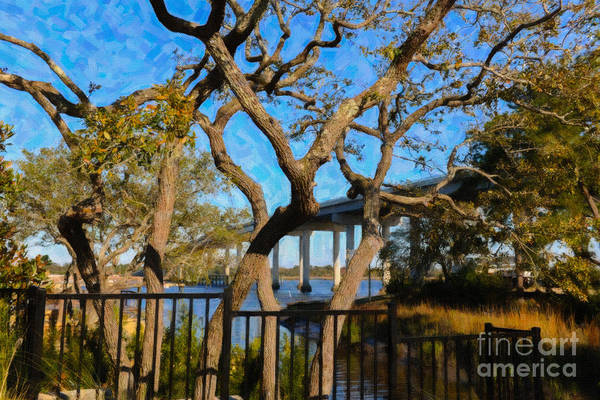 Digital Art - Stono Bridge by Dale Powell
