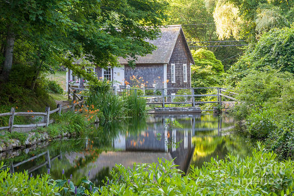 Photograph - Stony Brook Grist Mill by Susan Cole Kelly