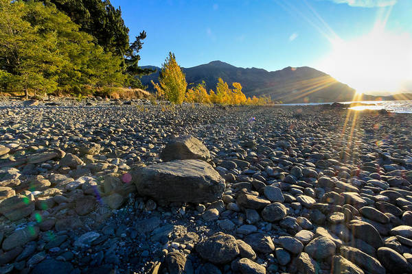 Photograph - Stony Foreshore Of Lake Wanaka by Jenny Setchell