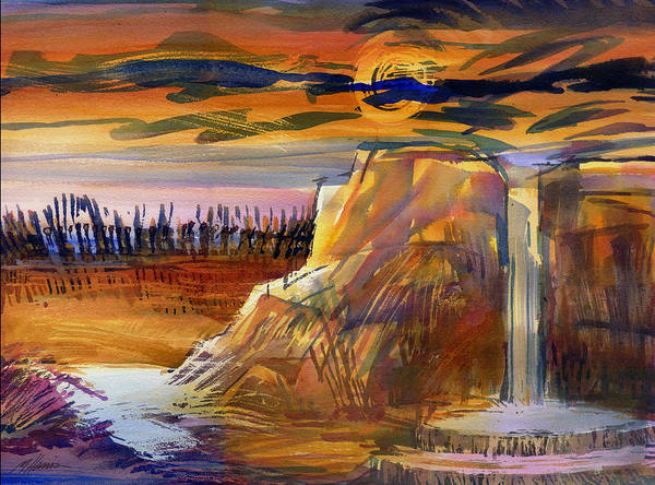 Desolation Painting - Stop Making Sense by Melissa Harris