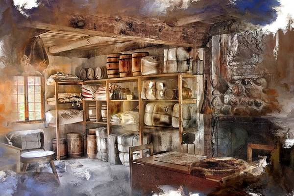 Michilimackinac Wall Art - Photograph - Store Room At Fort Michilimackinac by Evie Carrier