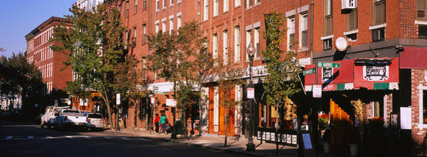 Boston North End Wall Art - Photograph - Stores Along A Street, North End by Panoramic Images
