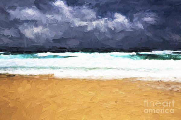 Wall Art - Photograph - Storm Approaching Manyana by Sheila Smart Fine Art Photography