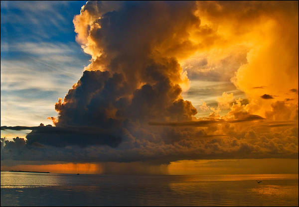 Photograph - Storm At Sea by Ginger Wakem