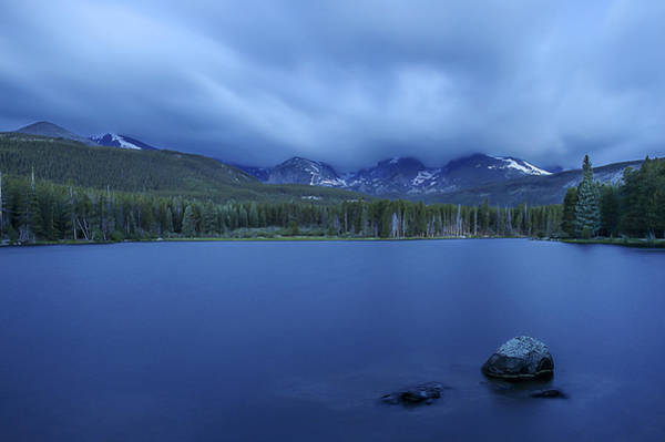 Photograph - Storm At Sprague Lake by Lee Kirchhevel