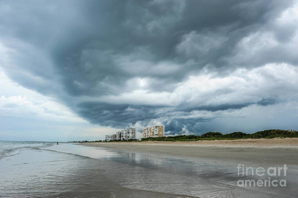 Lurking Photograph - Storm Brewing by L Bee