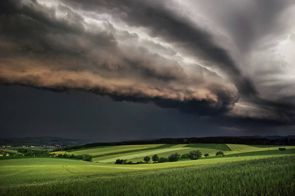 Cloudy Photograph - Storm by Burger Jochen