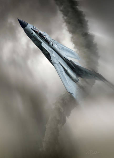Raf Digital Art - Storm Chaser by Peter Chilelli