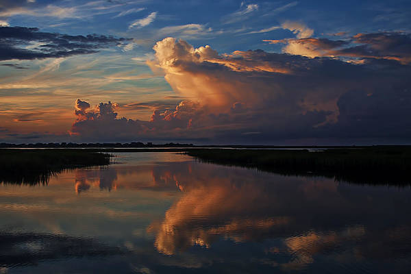 Terry Shoemaker - Storm clouds at Sunrise
