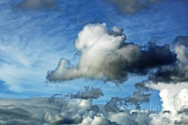 Photograph - Storm Clouds Gathering by Susan Wiedmann