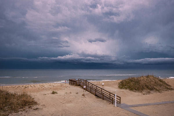 Photograph - Storm Clouds On The Outer Banks by Mary Almond