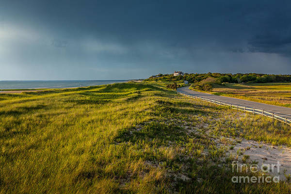 Photograph - Storm Clouds Over First Encounter Beach by Susan Cole Kelly