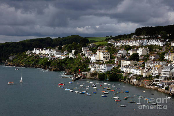 Photograph - Storm Clouds Over Fowey by James Brunker